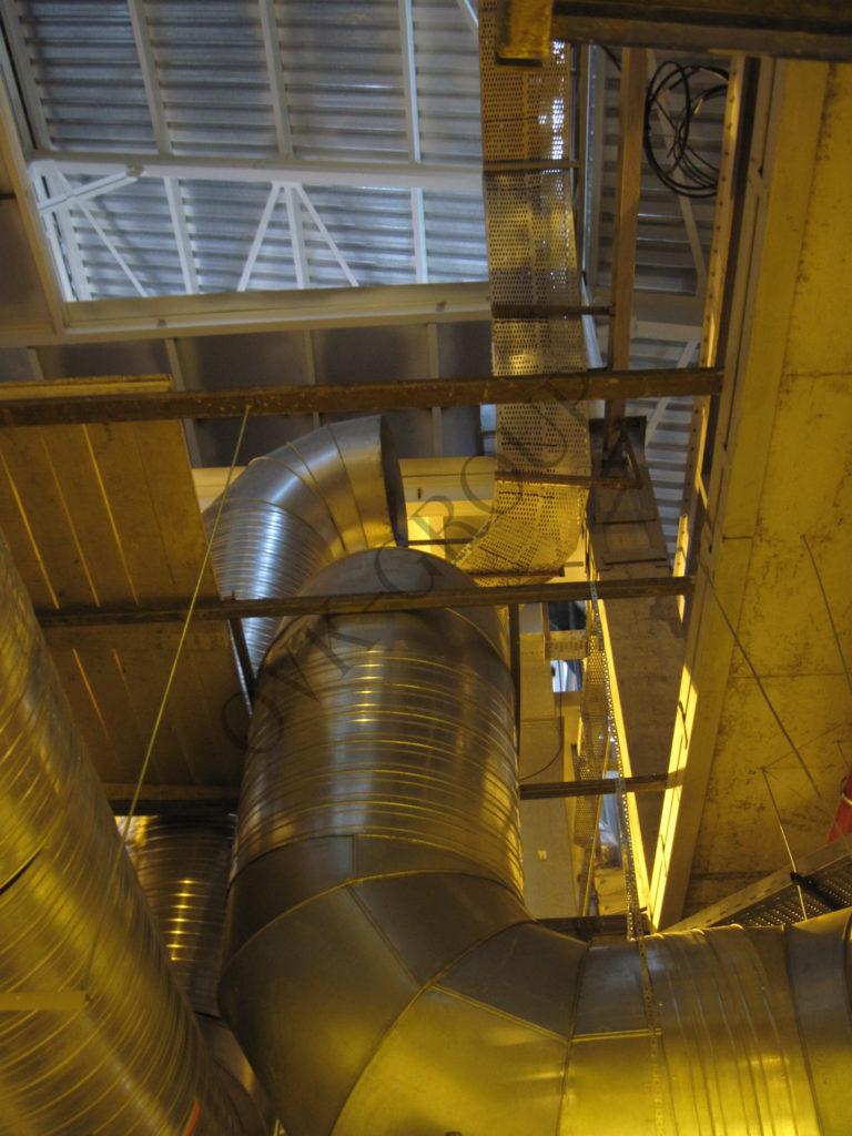 Проект и монтаж системы вентиляции завода
