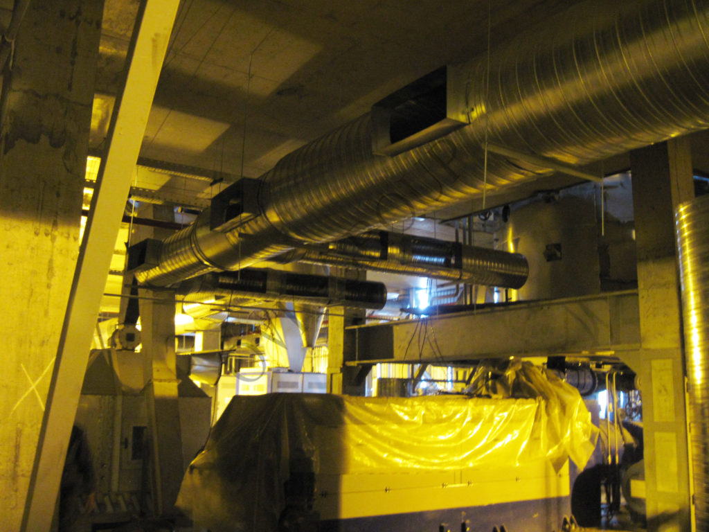 Проектирование приточной вентиляции завода