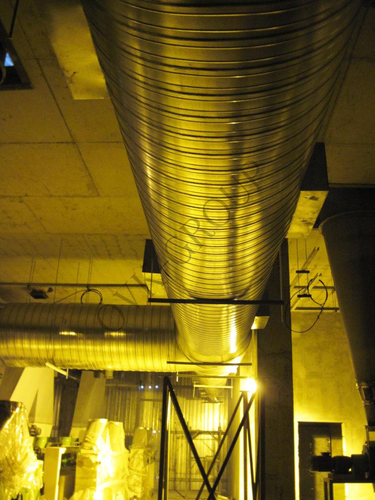 Проектные работы по системе вентиляции завода