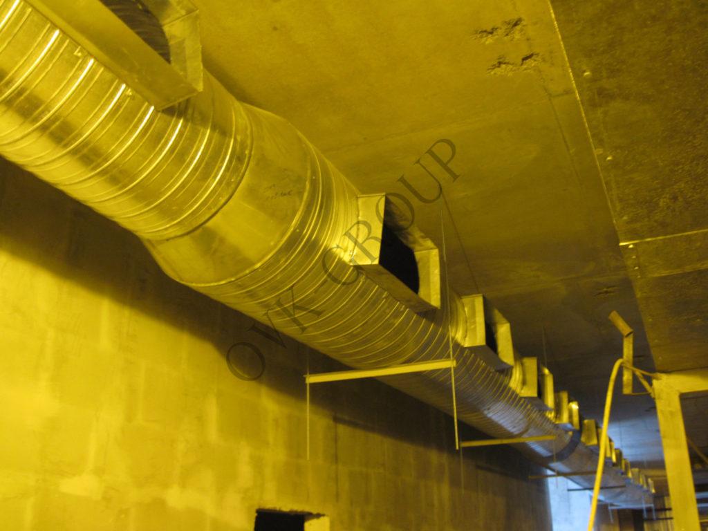 Проектирование и монтаж системы вентиляции на заводе