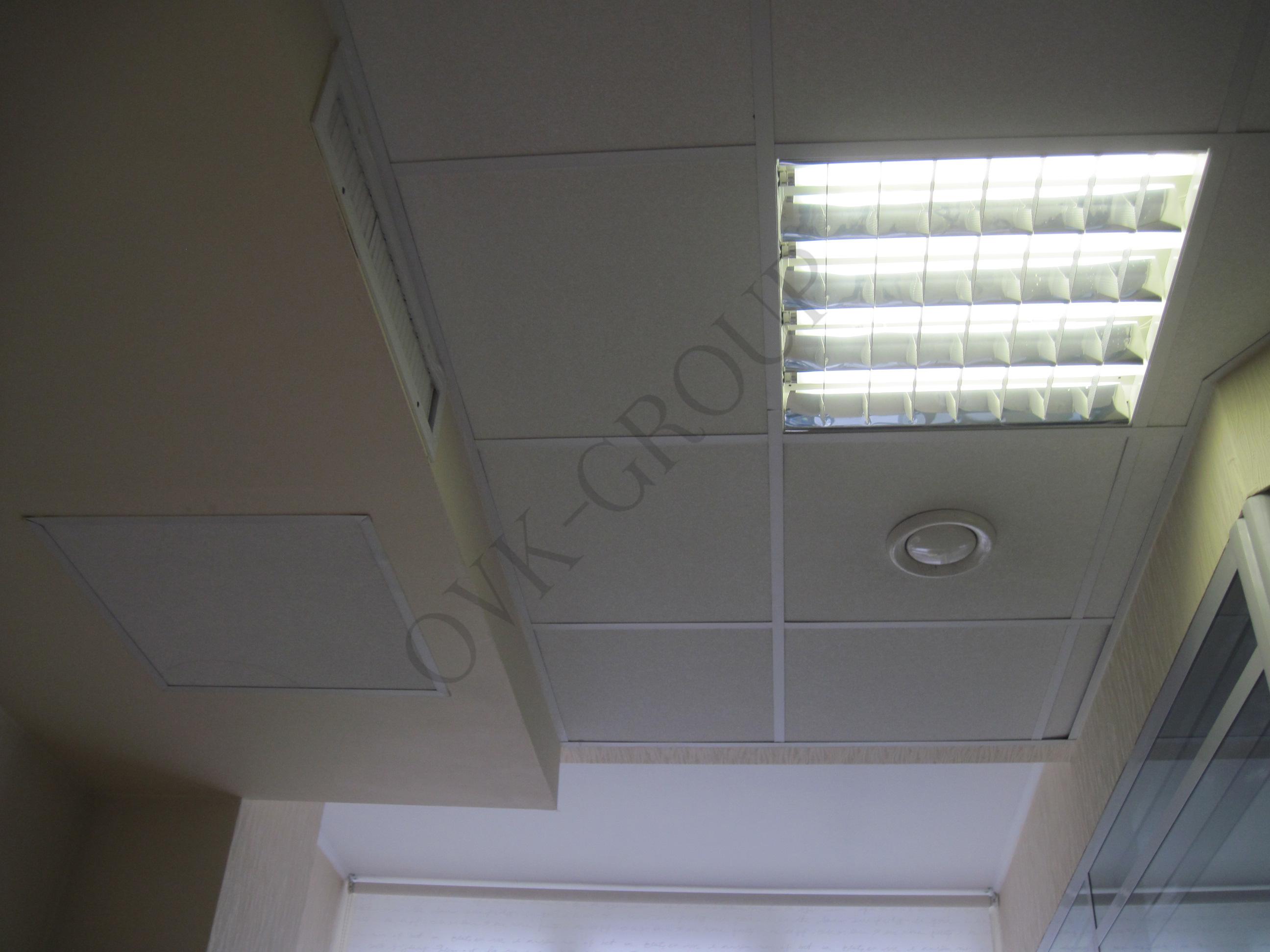Проект и монтаж вентиляции и кондиционирования в офисе компании