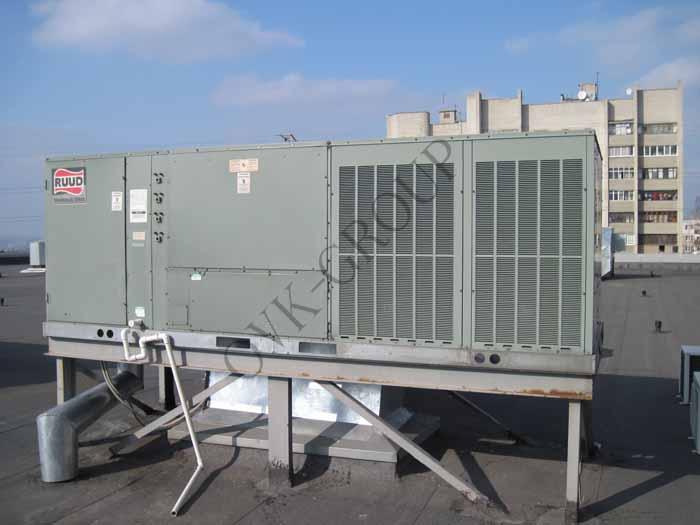 Монтаж оборудования систем вентиляции