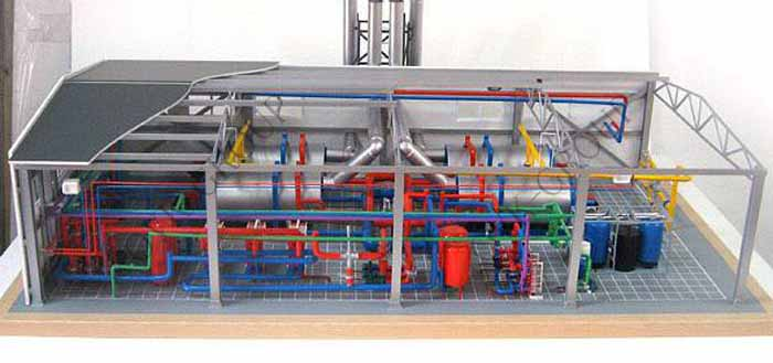 Монтаж оборудования и системы отопления