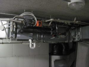 Обвязка приточной установки в офисном центре