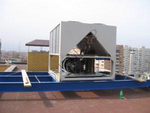 Проектирование системы кондиционирования на основе чиллера и фанкойлов в офисном центре