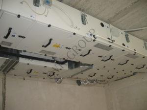 Проектирование вентиляции офисного здания на основе приточно вытяжной установки