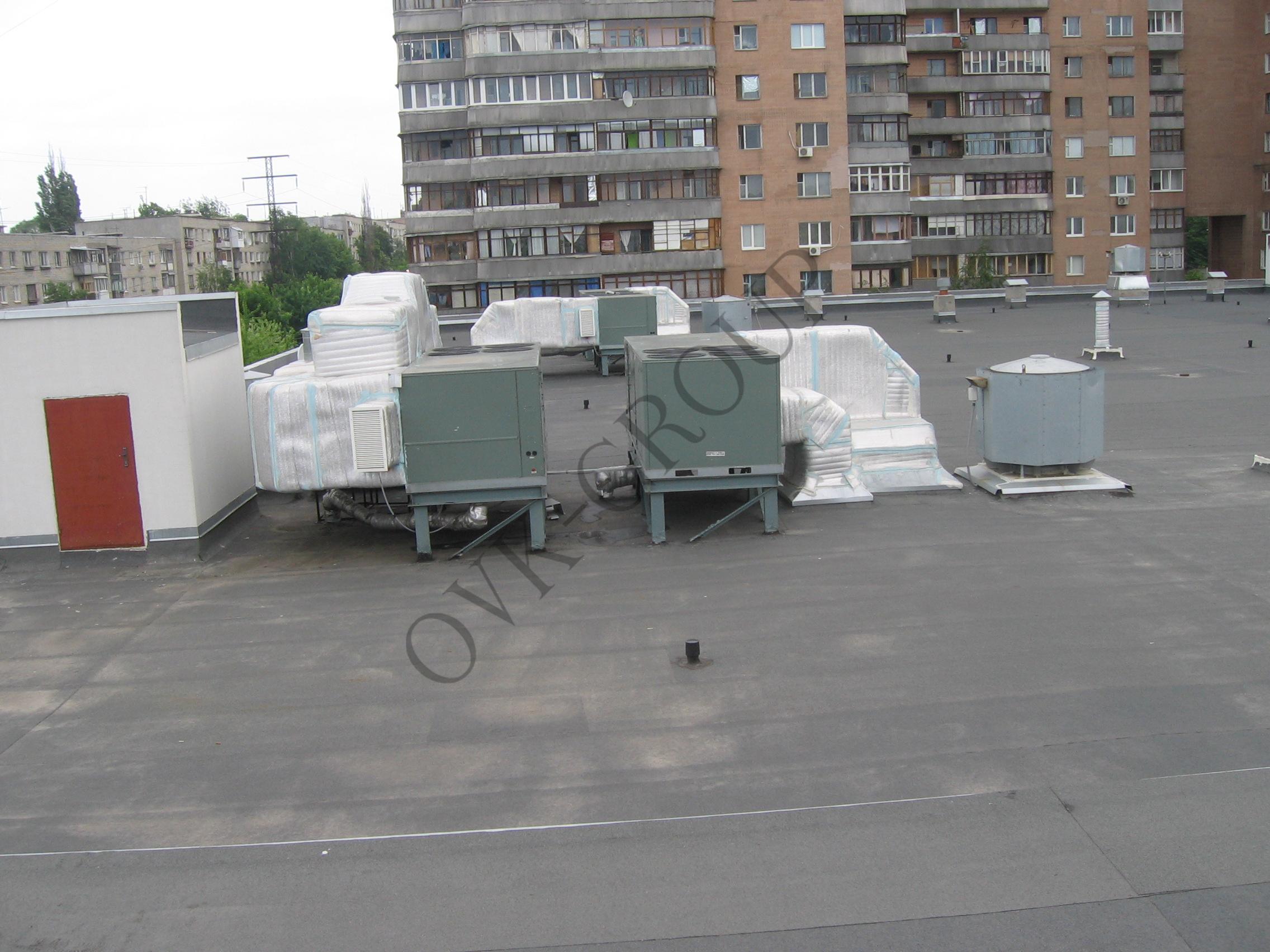 Проектирование воздушного отопления и кондиционирования торгового центра при помощи руфтопов