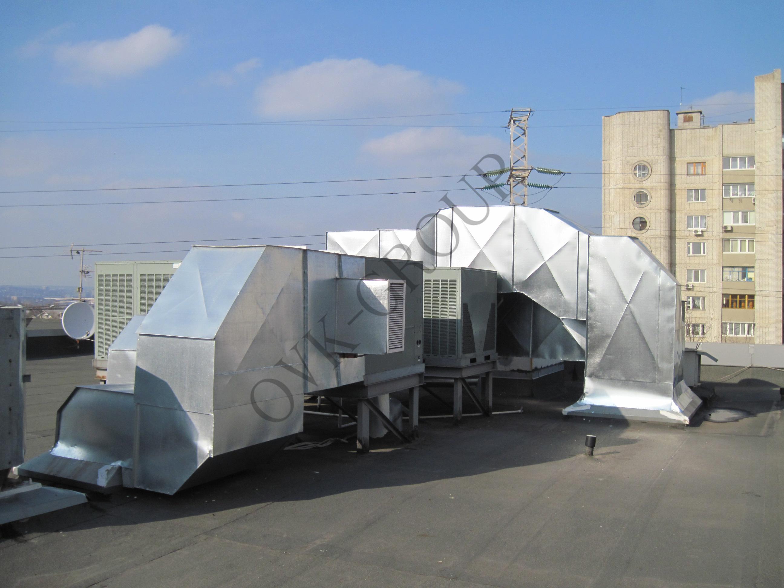 Проектирование воздушного отопления торгового центра