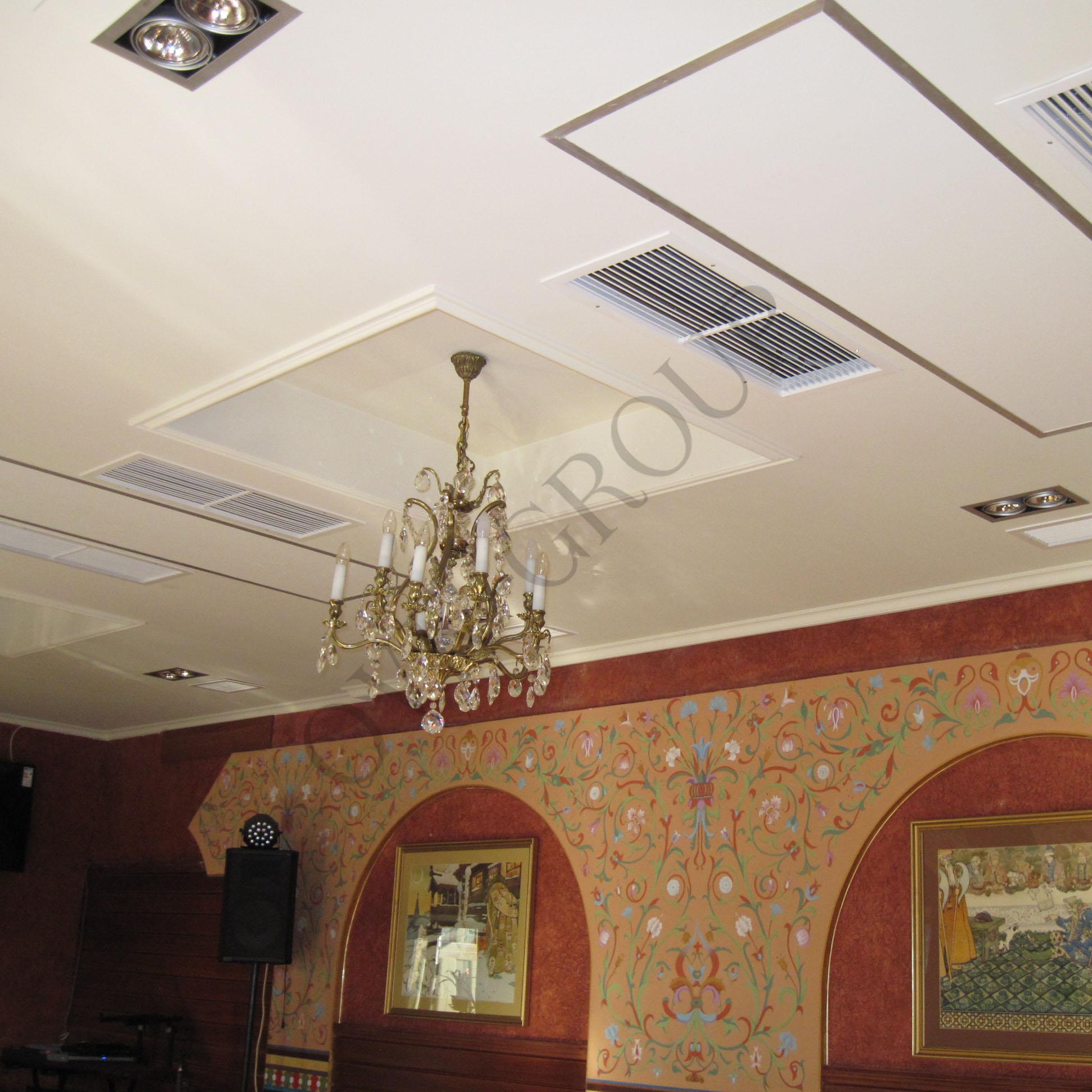 Проектирование климатичеких систем ресторана