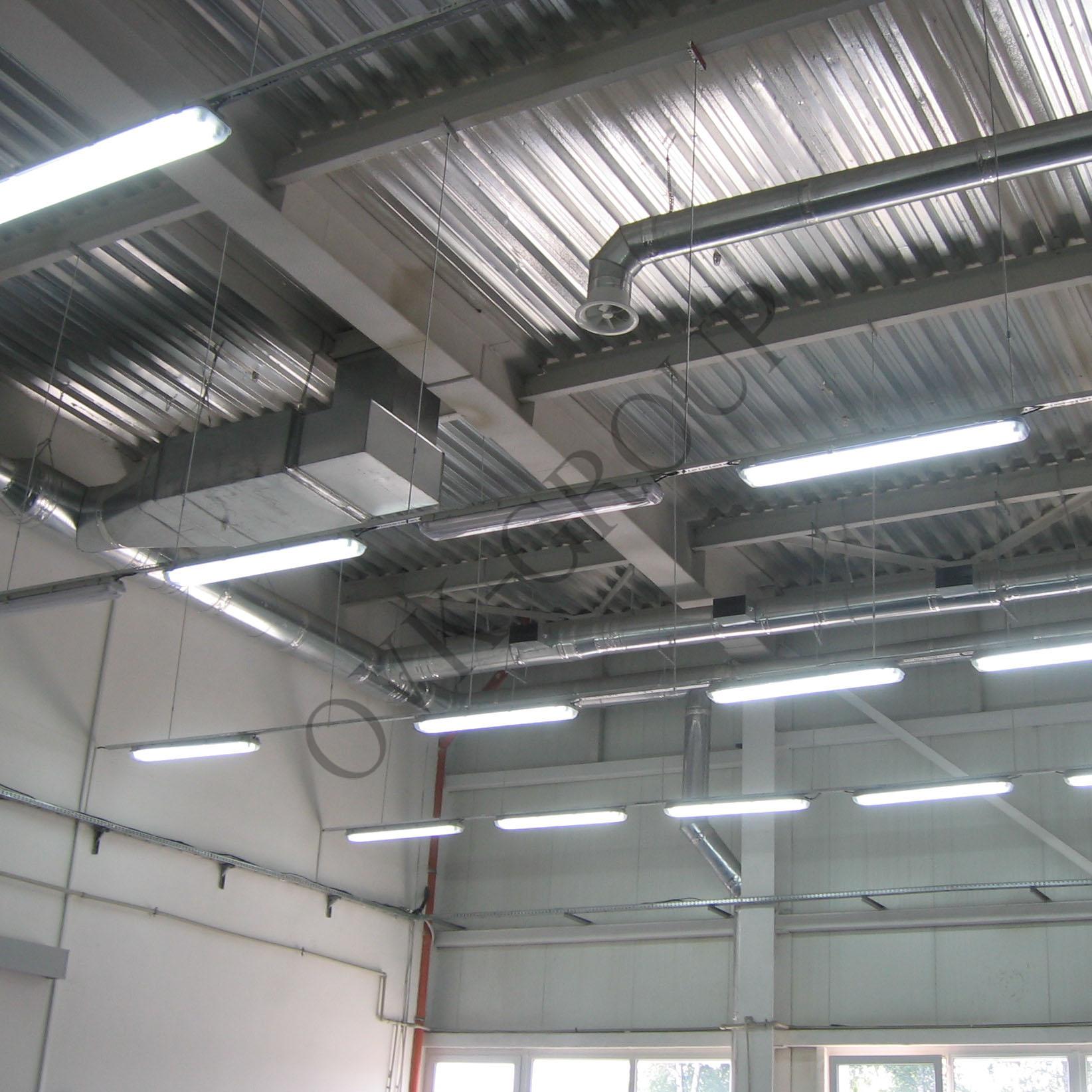 Проектирование климатичеких систем промышленного склада