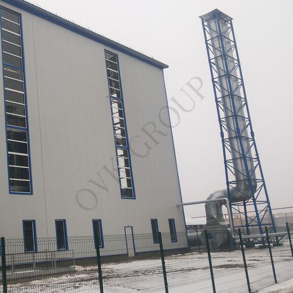 Проектирование отопления и вентиляции завода