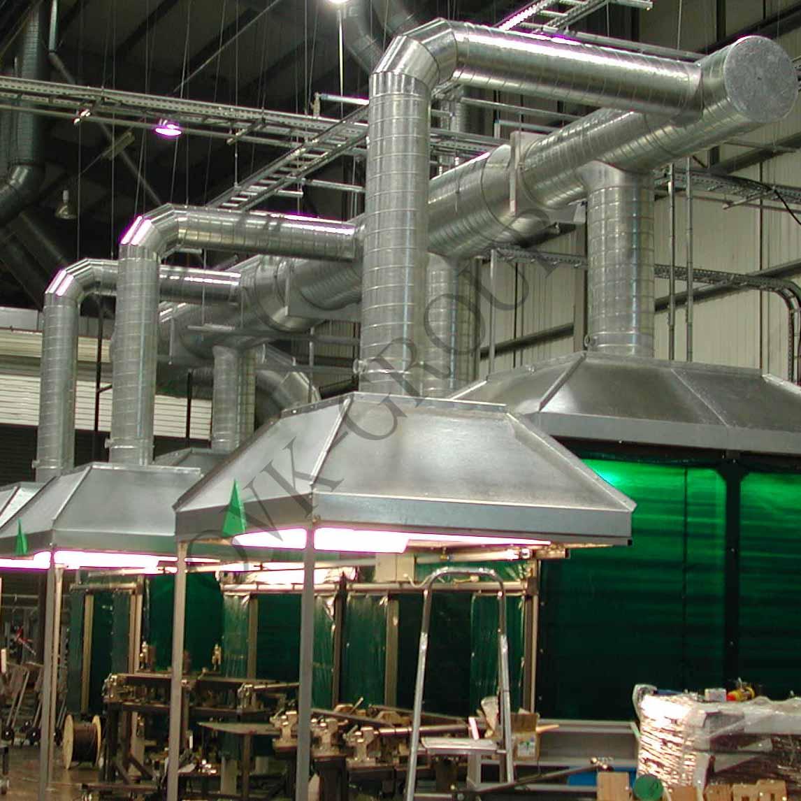 Проектирование местной приточной и вытяжной вентиляции