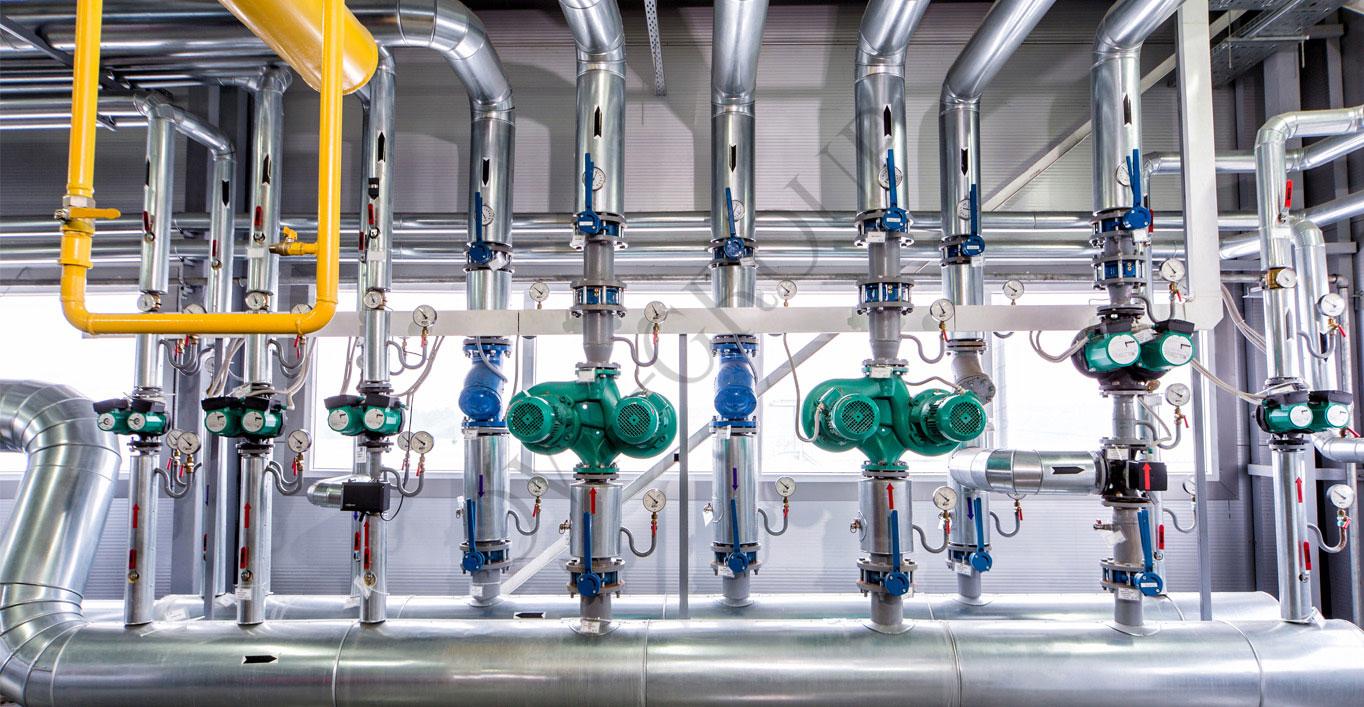 Проектирование насосной станции отопление