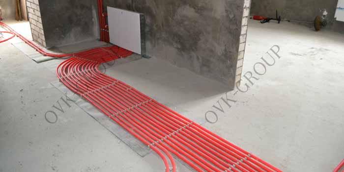 Проектирование монтаж лучевой схемы отопления в коттедже и загородном доме