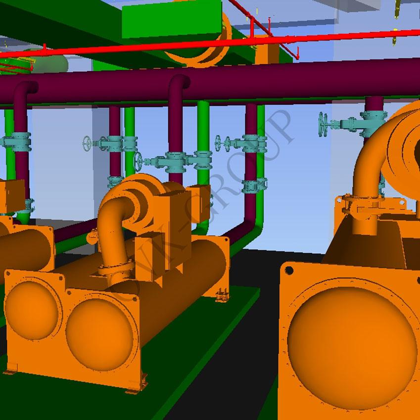 Проект системы холодоснабжения промышленного здания