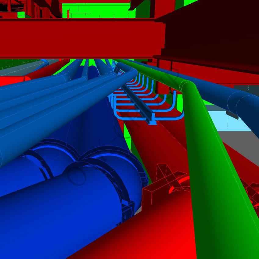 Проект системы канализации промышленного строения