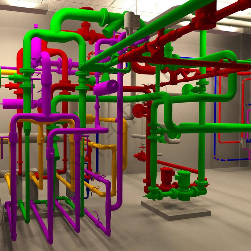 Проект системы кондиционирования воздуха для промышленного здания