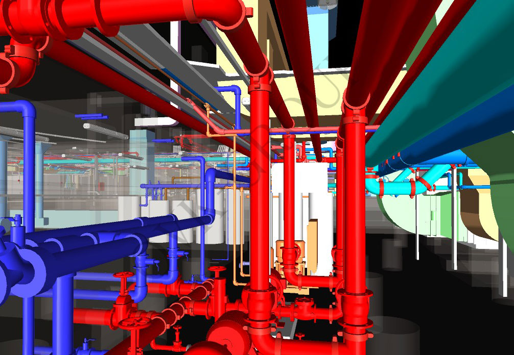 Проект системы отопления здания