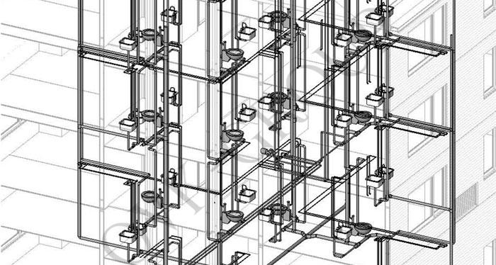 Проект водоснабжения многоэтажных зданий