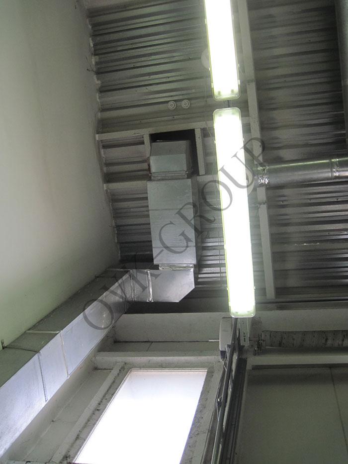 Проект приточной вентиляции автосалона