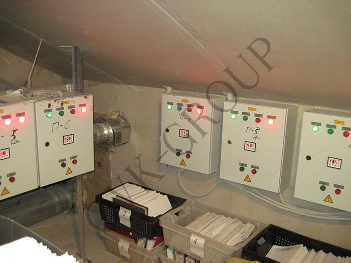 Проектирование системы автоматики вентиляционных установок в офисном центре