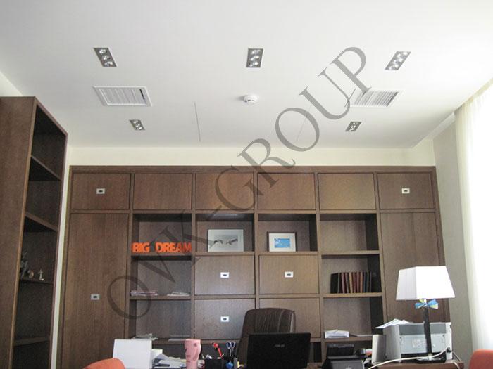 Проектирование и монтаж системы VRV в кабинетах офисного центра