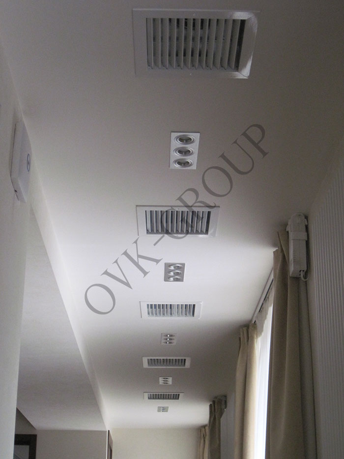 Проект системы вентиляции в конференц зале офисного центра