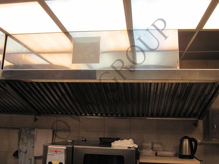 Проектирование вентиляции горячего цеха офисного центра