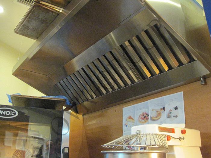 Проектирование вентиляции горячего цеха ресторана в офисном центре