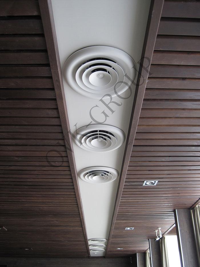 Проектирование воздухораспределения системы кондиционирования в зале ресторана