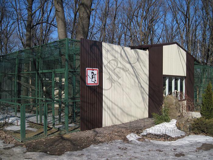 Проектирование системы вентиляции обезьянника в Харькове