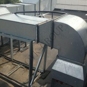 Проект вентиляции промышленного здания
