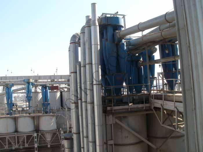 Монтаж оборудования систем аспирации воздуха на производстве