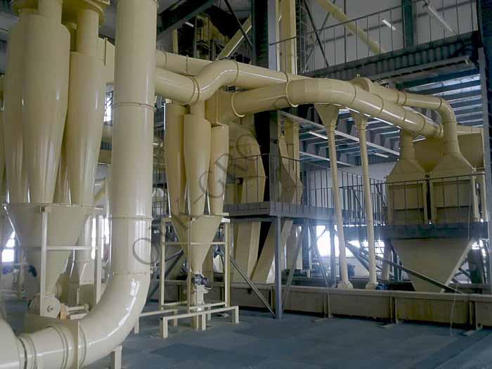 Монтаж системы аспирации воздуха на производстве