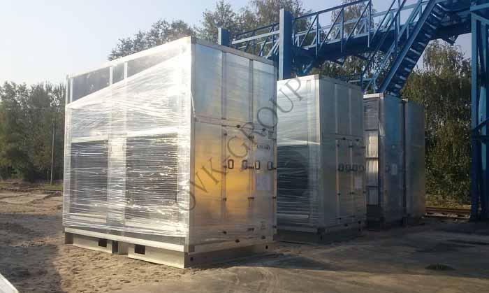 Монтаж оборудования приточной и вытяжной промышленной вентиляции