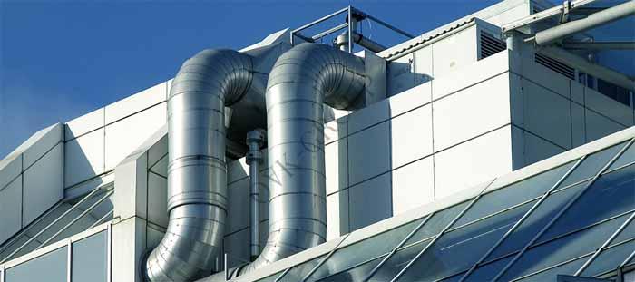 Монтаж приточной и вытяжной системы промышленной вентиляции