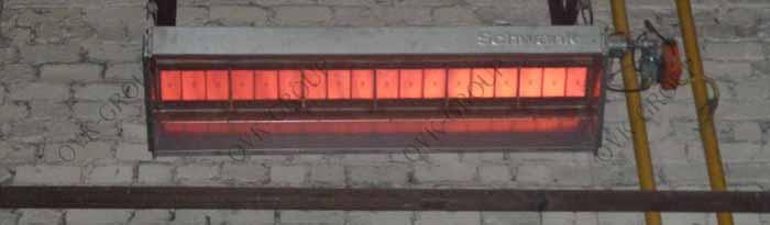 Проектирование и монтаж инфракрасного отопления в производственном цехе