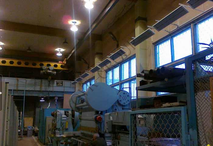Проект и монтаж системы отопления в производственном цехе