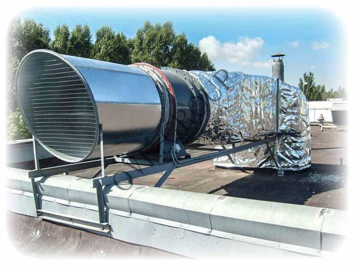 Проектирование и монтаж противодымной вентиляции