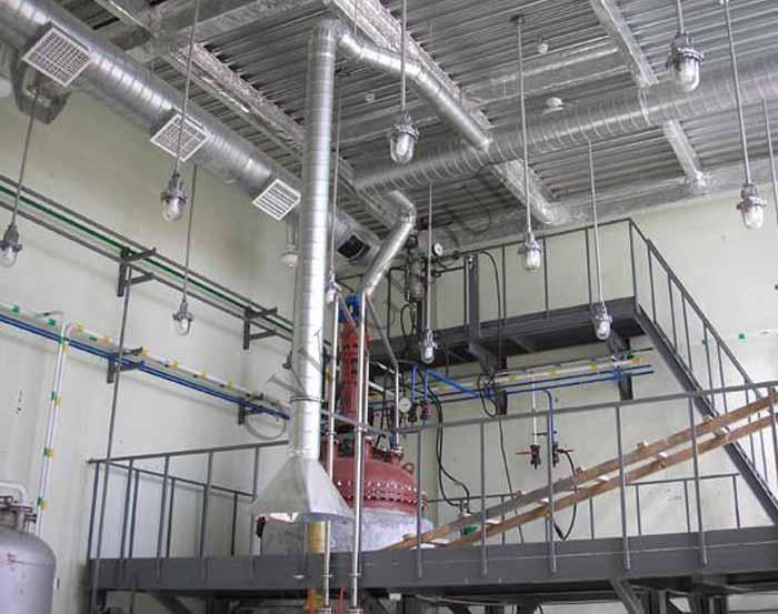 Проектирование аварийной системы вентиляции