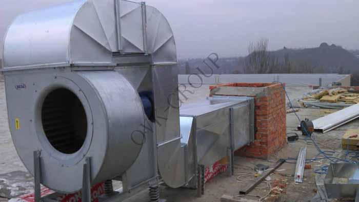 Проектирование и монтаж систем дымоудаления в промышленном цехе