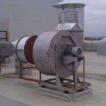 Монтаж вентиляторов дымоудаления