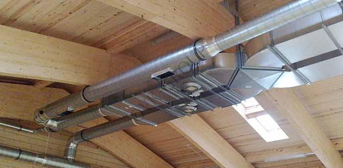 Проектирование и монтаж приточно-вытяжной вентиляции в коттедже