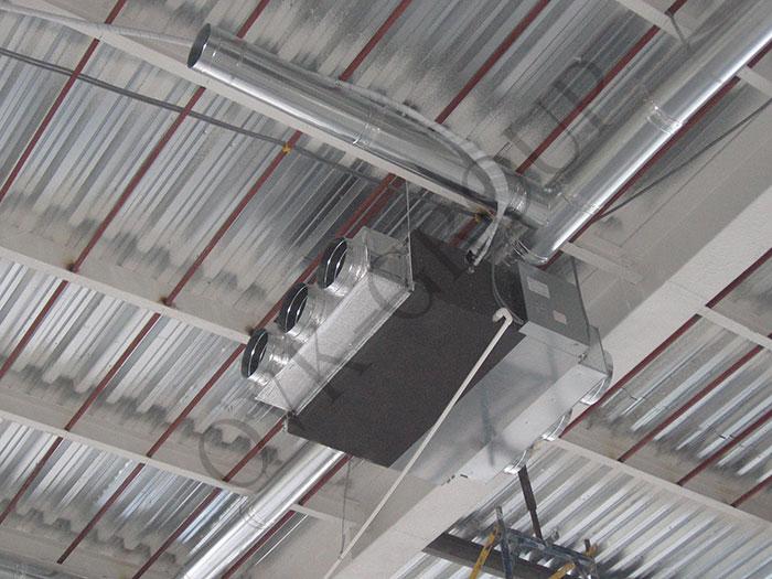 Монтаж внутренних блоков VRV и VRF систем