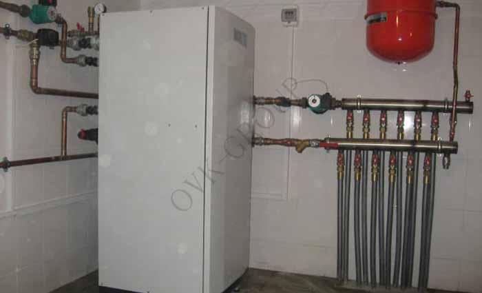 Проектирование и монтаж водяных тепловых насосов для кондиционирования и отопления коттеджа