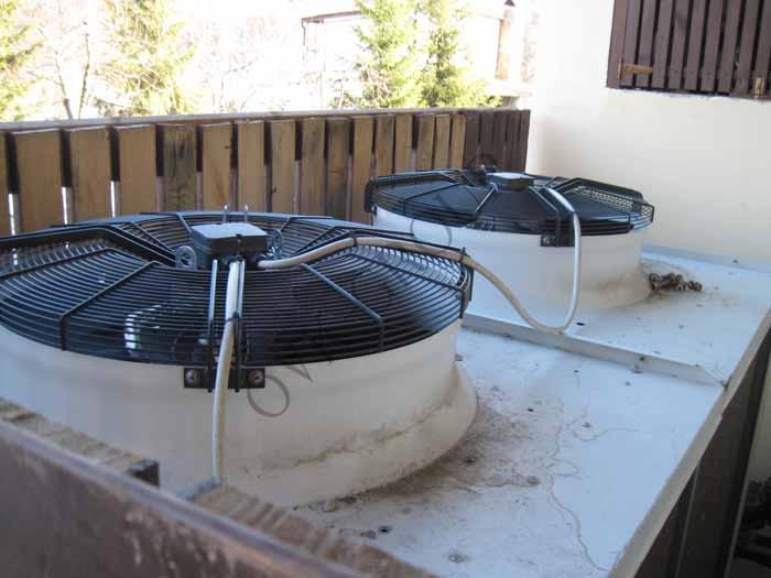 Проектирование и монтаж кондиционирования коттеджа и загородного дома на основе системы чиллер-фанкойл