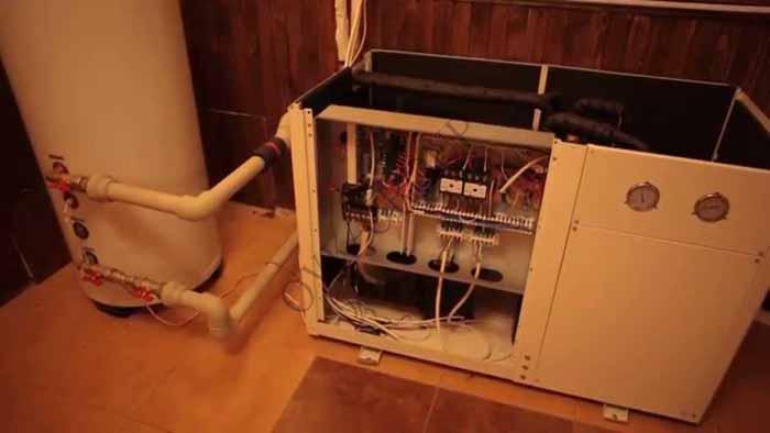Проектирование и монтаж воздушного теплового насоса для кондиционирования коттеджа