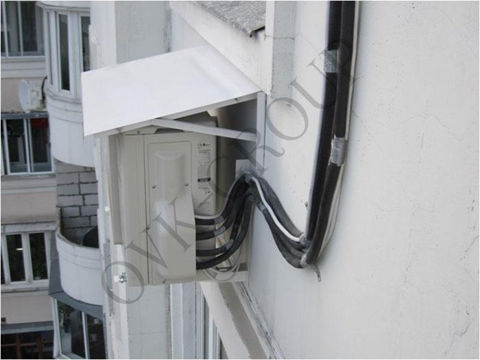 Монтаж наружных и внутренних блоков мульти сплит систем