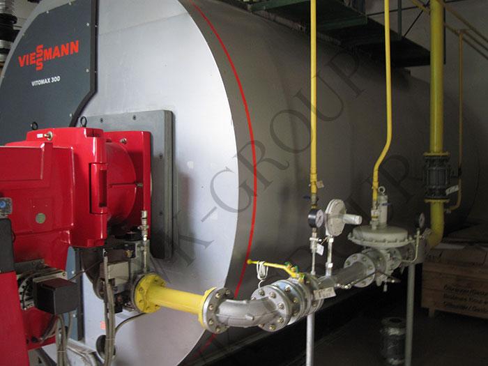 Монтаж промышленных котлов и теплового оборудования