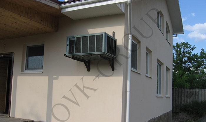 Проектирование и монтаж воздушного отопления в коттедже